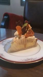 杏のチーズタルト